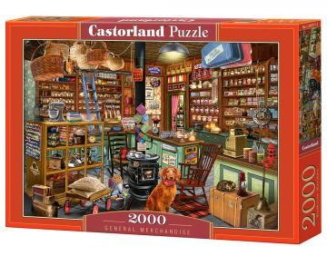 General Merchandise - Puzzle - 2000 Teile · CAS 2007712 ·  Castorland