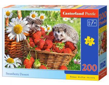 Strawberry Dessert - Puzzle - 200 Teile · CAS 222025 ·  Castorland