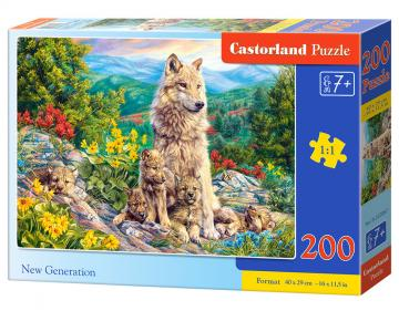 New Generation - Puzzle - 200 Teile · CAS 222087 ·  Castorland