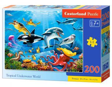 Tropical Underwater World - Puzzle - 200 Teile · CAS 222094 ·  Castorland