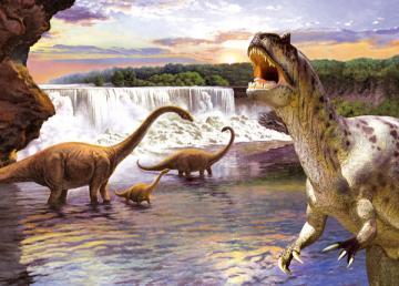 Diplodocus,Puzzle 260 Teile · CAS 269991 ·  Castorland