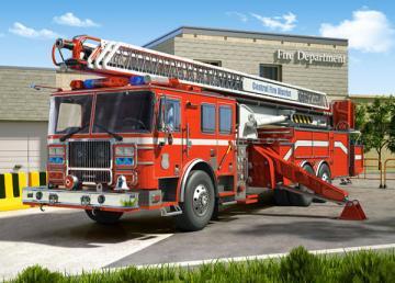 Fire Engine,Puzzle 260 Teile · CAS 270401 ·  Castorland