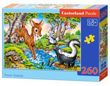 Forest Animals - Puzzle - 260 Teile · CAS 274461 ·  Castorland