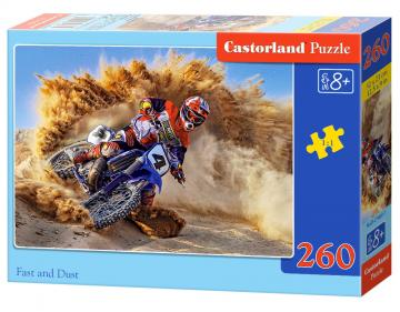 Fast and Dust - Puzzle - 260 Teile · CAS 274601 ·  Castorland