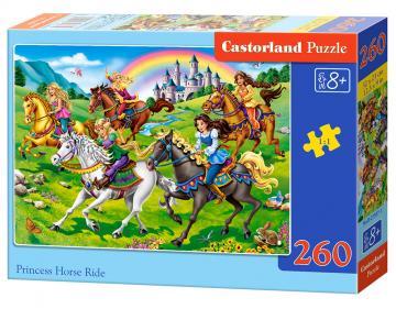 Princess Horse Ride - Puzzle - 260 Teile · CAS 274841 ·  Castorland