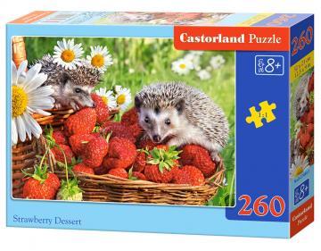 Strawberry Dessert - Puzzle - 260 Teile · CAS 275071 ·  Castorland
