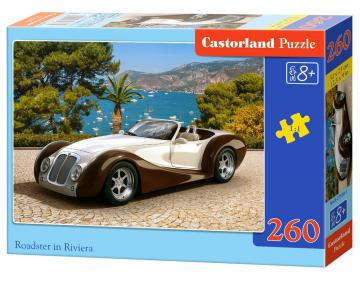 Roadster in Riviera - Puzzle - 260 Teile · CAS 275381 ·  Castorland