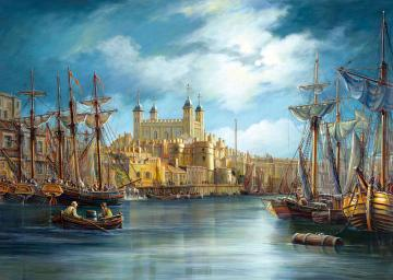 New Day at the Harbour,Puzzle 3000 Teile · CAS 3001672 ·  Castorland