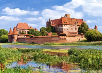 Malbork Castle, Poland,Puzzle 3000 Teile · CAS 3002112 ·  Castorland