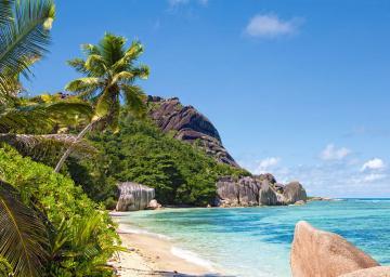 Tropical Beach,Seychelles,Puzzle 3000 Te · CAS 3002282 ·  Castorland