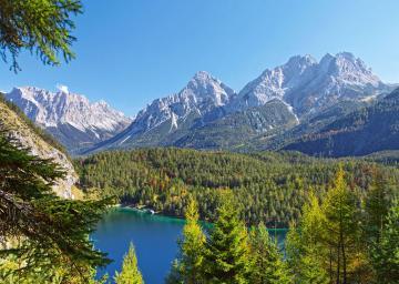 Lake in the Alps,Austria,Puzzle 3000 Tei · CAS 3002422 ·  Castorland
