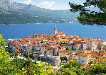 Korcula, Croatia,Puzzle 3000 Teile · CAS 3002662 ·  Castorland