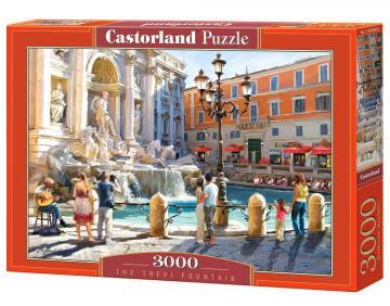The Trevi Fountain - Puzzle - 3000 Teile · CAS 3003892 ·  Castorland