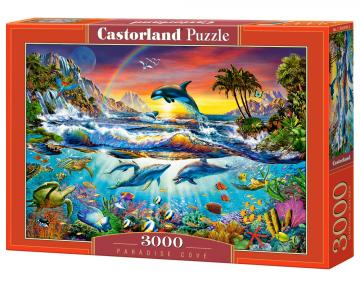 Paradise Cove - Puzzle - 3000 Teile · CAS 3003962 ·  Castorland