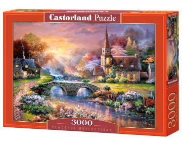 Peaceful Reflections - Puzzle - 3000 Teile · CAS 3004192 ·  Castorland