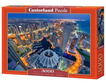 Towering Dreams,Dubai - Puzzle - - 3000 Teile · CAS 3004572 ·  Castorland