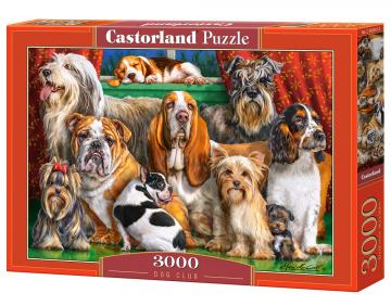 Dog Club - Puzzle - 3000 Teile · CAS 3005012 ·  Castorland