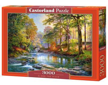 Along the River - Puzzle - 3000 Teile · CAS 3005322 ·  Castorland