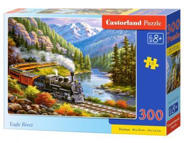 Eagle River - Puzzle - 300 Teile · CAS 30293 ·  Castorland