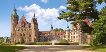 Moszna Castle, Poland,Puzzle 4000 Teile · CAS 4000272 ·  Castorland