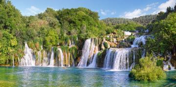 Krka Waterfalls, Croatia,Puzzle 4000 Tei · CAS 4001332 ·  Castorland