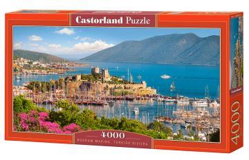 Bodrum Marina,Turkish Riviera, Puzzle 4000 Teile · CAS 4001572 ·  Castorland