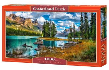 The Spirit Island - Puzzle - 4000 Teile · CAS 4001882 ·  Castorland