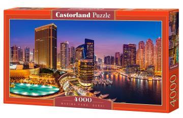 Marina Pano,Dubai - Puzzle - 4000 Teile · CAS 4001952 ·  Castorland