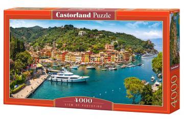 View of Portofino - Puzzle - 4000 Teile · CAS 4002252 ·  Castorland