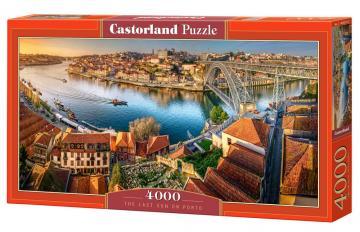 The last sun on Porto - Puzzle - 4000 Teile · CAS 4002322 ·  Castorland
