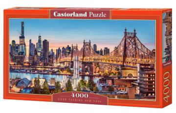 Good Evening New York - Puzzle - 4000 Teile · CAS 4002562 ·  Castorland