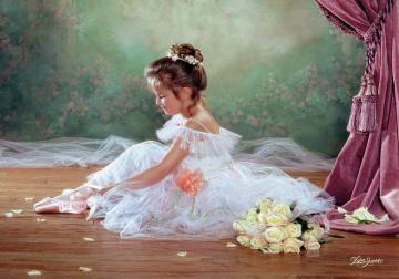 Peaceful-Ballerina, Puzzle 500 Teile · CAS 515712 ·  Castorland