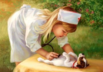 Little Nurse, Puzzle 500 Teile · CAS 520042 ·  Castorland