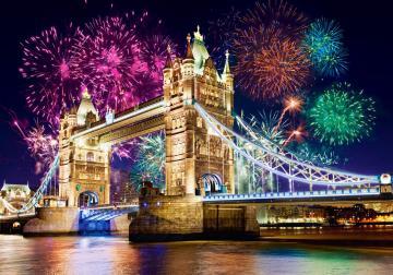 Tower Bridge, England, Puzzle 500 Teile · CAS 520282 ·  Castorland