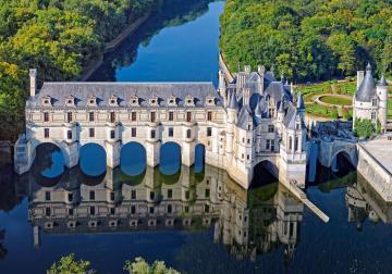 Cháteau of Chenonceau, Puzzle 500 Teile · CAS 521032 ·  Castorland