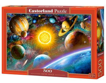 Outer Space - Puzzle - 500 Teile · CAS 52158 ·  Castorland