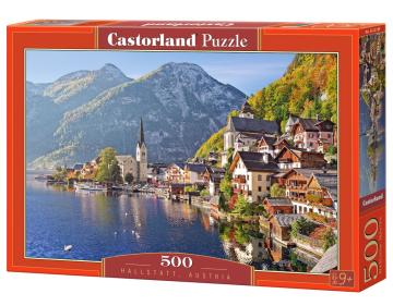 Hallstadt, Austria - Puzzle - 500 Teile · CAS 521892 ·  Castorland