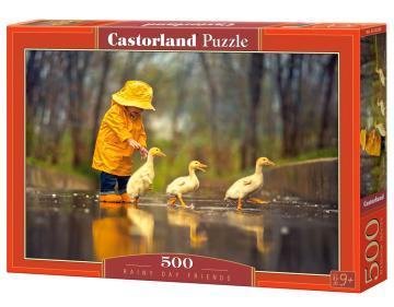 Rainy Day Friends, Puzzle 500 Teile · CAS 52264 ·  Castorland