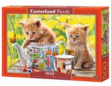 Tea Time - Puzzle - 500 Teile · CAS 52356 ·  Castorland