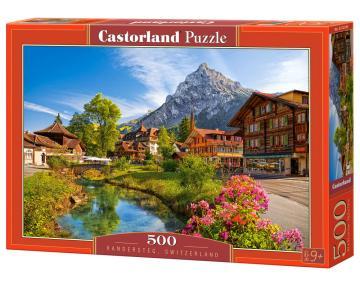 Kandersteg,Switzerland - Puzzle - 500 Teile · CAS 52363 ·  Castorland