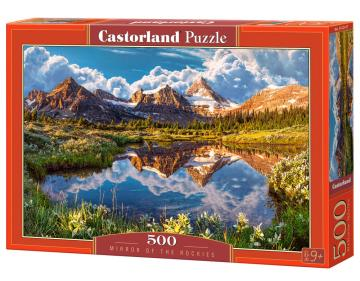 Mirror on the Rockies - Puzzle - 500 Teile · CAS 52417 ·  Castorland