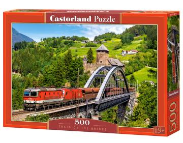 Train on the Bridge - Puzzle - 500 Teile · CAS 52462 ·  Castorland