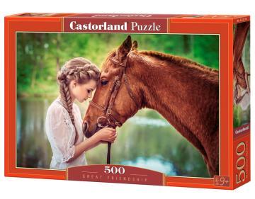 Great Friendship - Puzzle - 500 Teile · CAS 52516 ·  Castorland