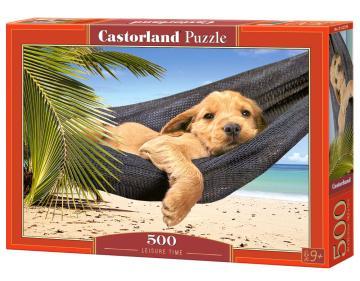 Leisure Time - Puzzle - 500 Teile · CAS 52554 ·  Castorland