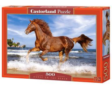 Horse on the Beach - Puzzle - 500 Teile · CAS 52578 ·  Castorland