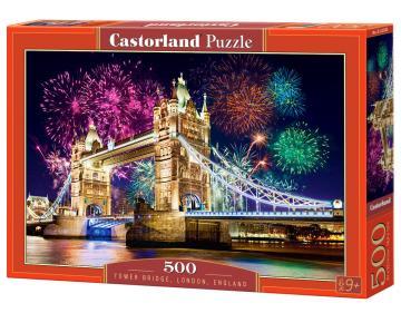 Tower Bridge, England - Puzzle - 500 Teile · CAS 52592 ·  Castorland
