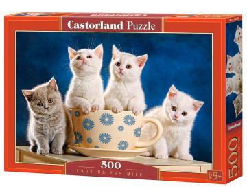 Looking for Milk - Puzzle - 500 Teile · CAS 52608 ·  Castorland