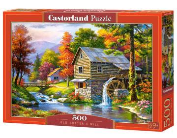 Old Sutter´s Mill - Puzzle - 500 Teile · CAS 52691 ·  Castorland