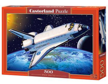 Space Shuttle - Puzzle - 500 Teile · CAS 52707 ·  Castorland