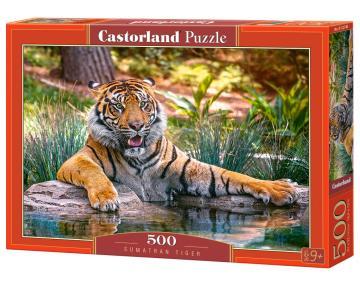 Sumatran Tiger - Puzzle - 500 Teile · CAS 52745 ·  Castorland